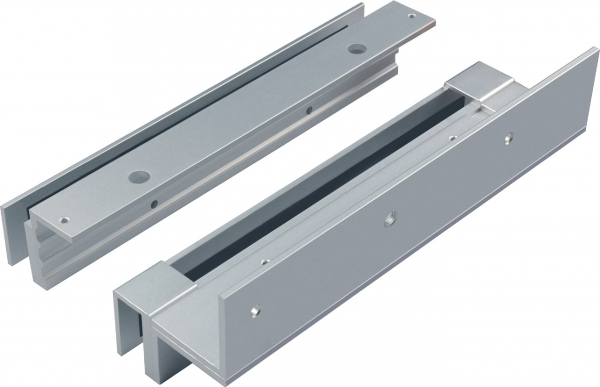 EM600-DSU Bracket for Applications with a Glass Door and a Glass Frame for use with our EM600 Series Locks