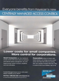 KeyScan Centrally Managed Advert